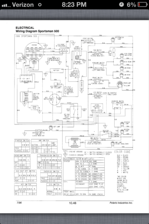 Image result for battery wiring diagram for 2008 polaris