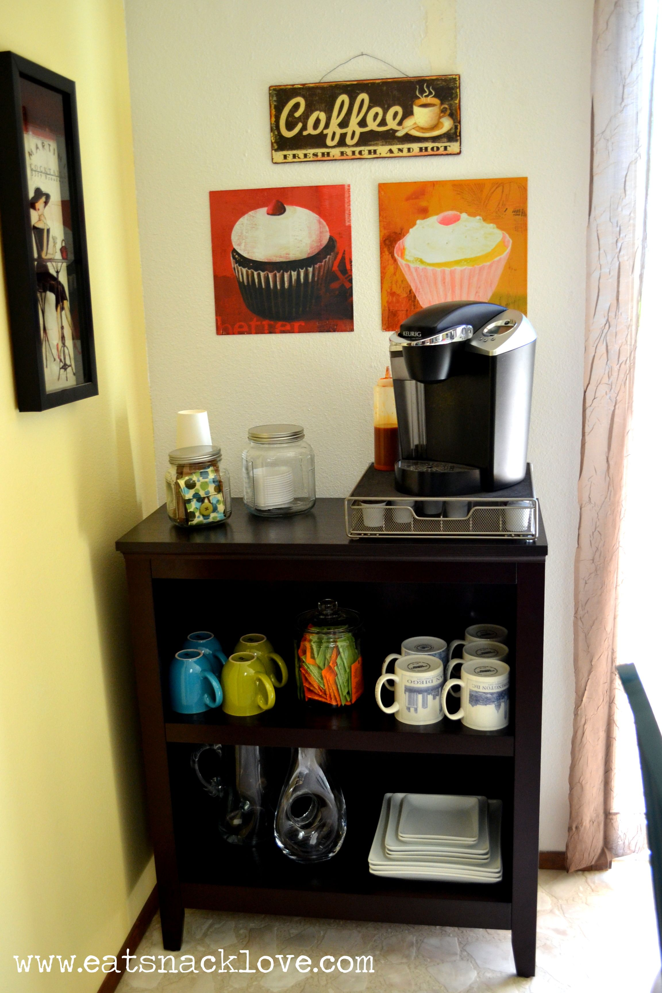 coffee bar in kitchen nook lighting cute ideas top creative