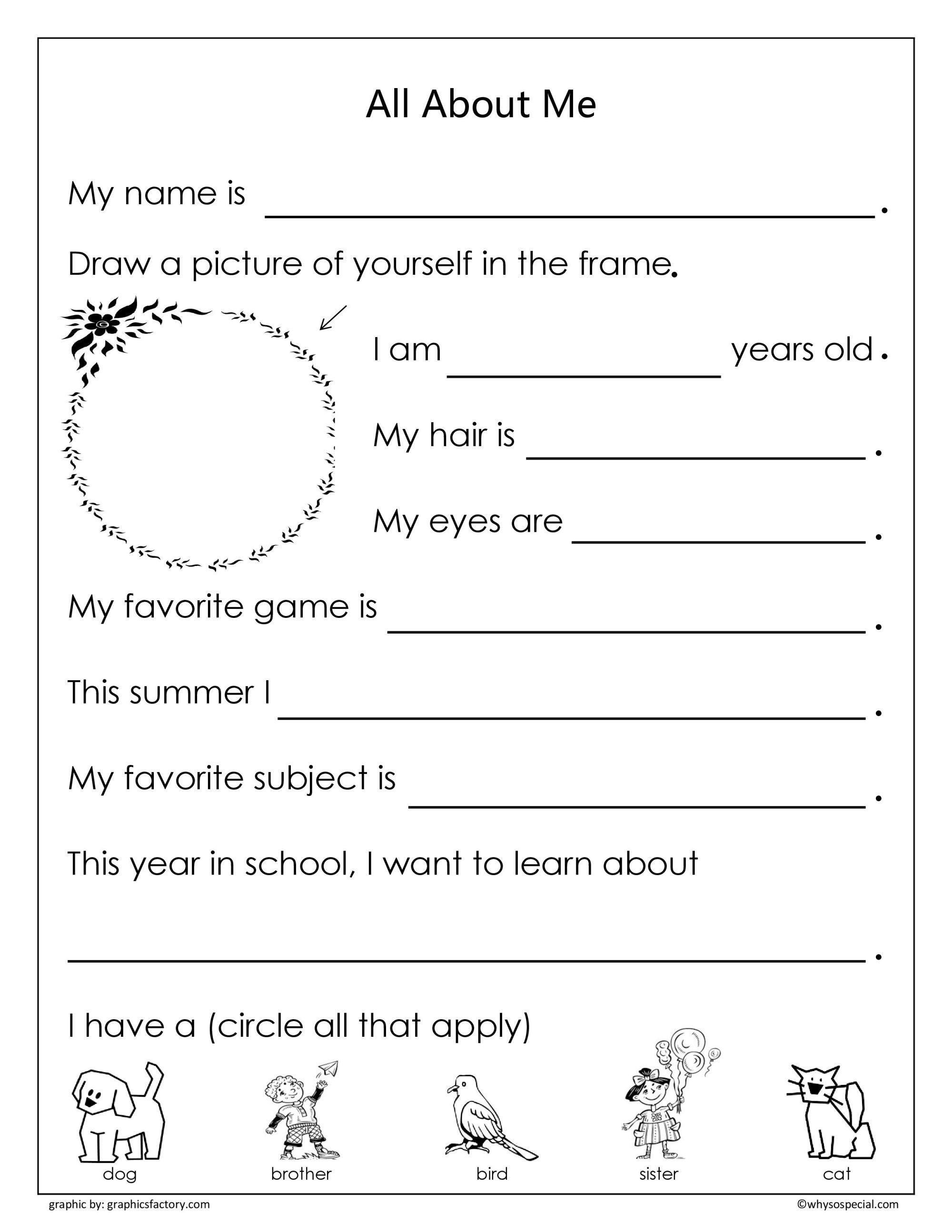 hight resolution of Senior Kindergarten Worksheet   Printable Worksheets and Activities for  Teachers