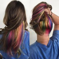 25 Vibrant Rainbow Hair Ideas  From Bright Rainbow Ombre ...