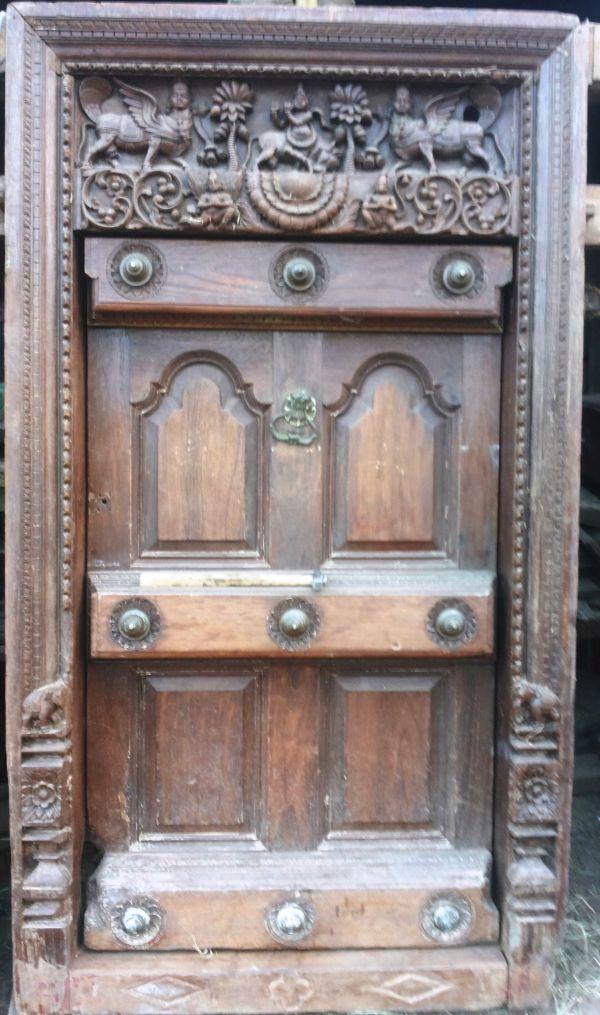Wooden #carving #vintage Door. Carvin Door