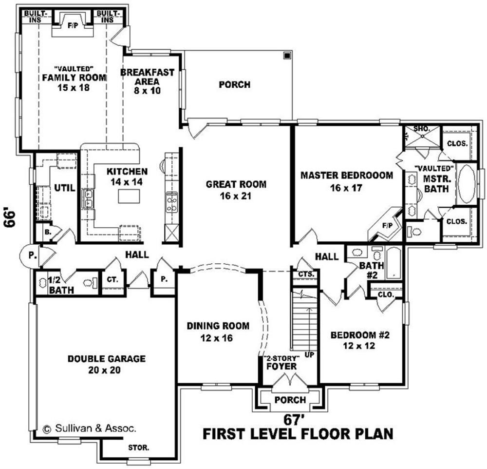 House Plands Big House Floor Plan Large Images For House Plan Su