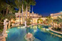 Tour a European-Style Villa With a Palatial Pool ...