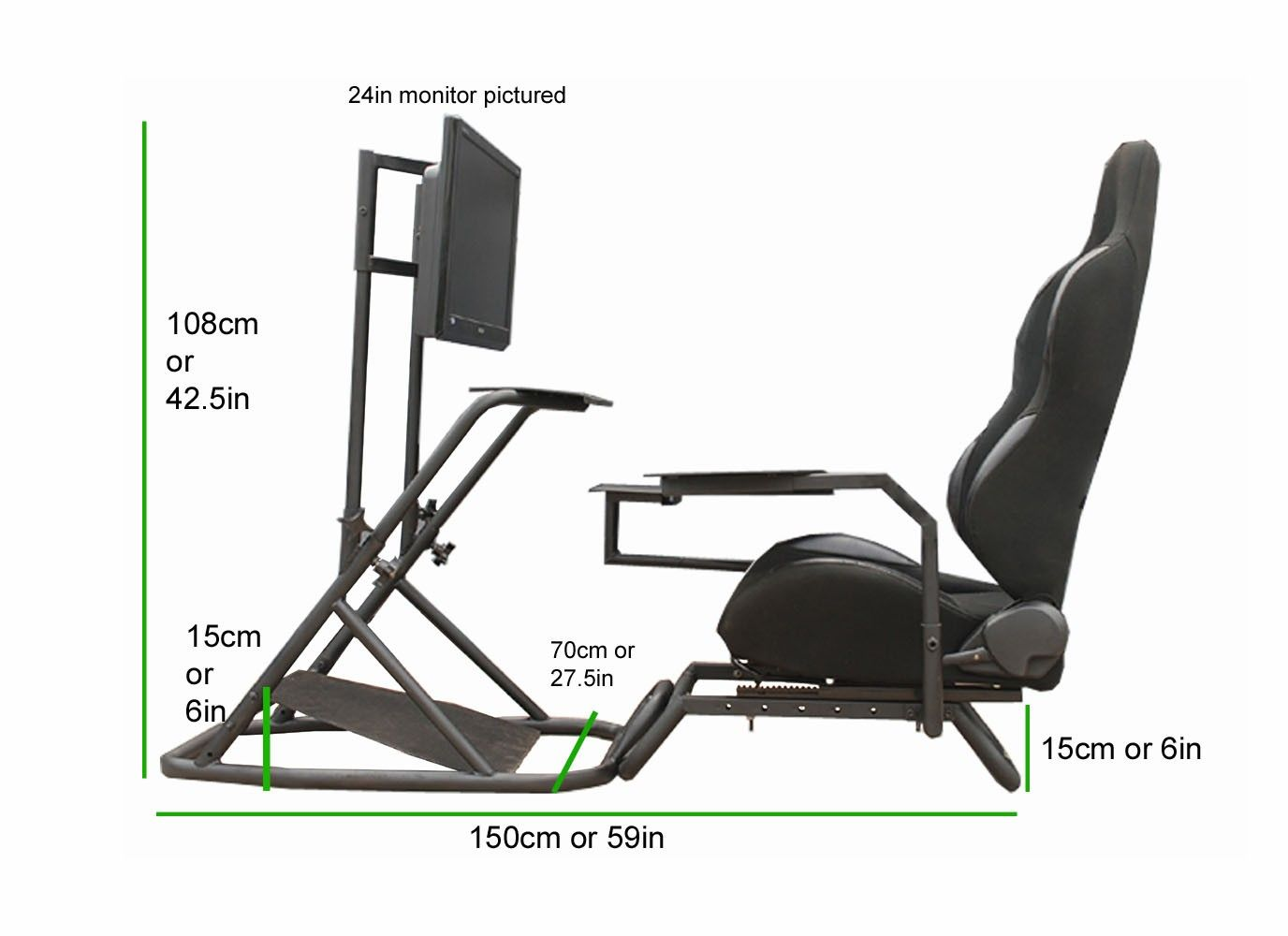hydraulic racing simulator chair accent chairs with arms for living room diy cockpits cockpit pinterest sims vr and