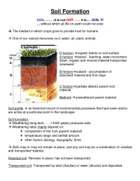 Soil Profile Worksheet | Projects to Try | Pinterest ...