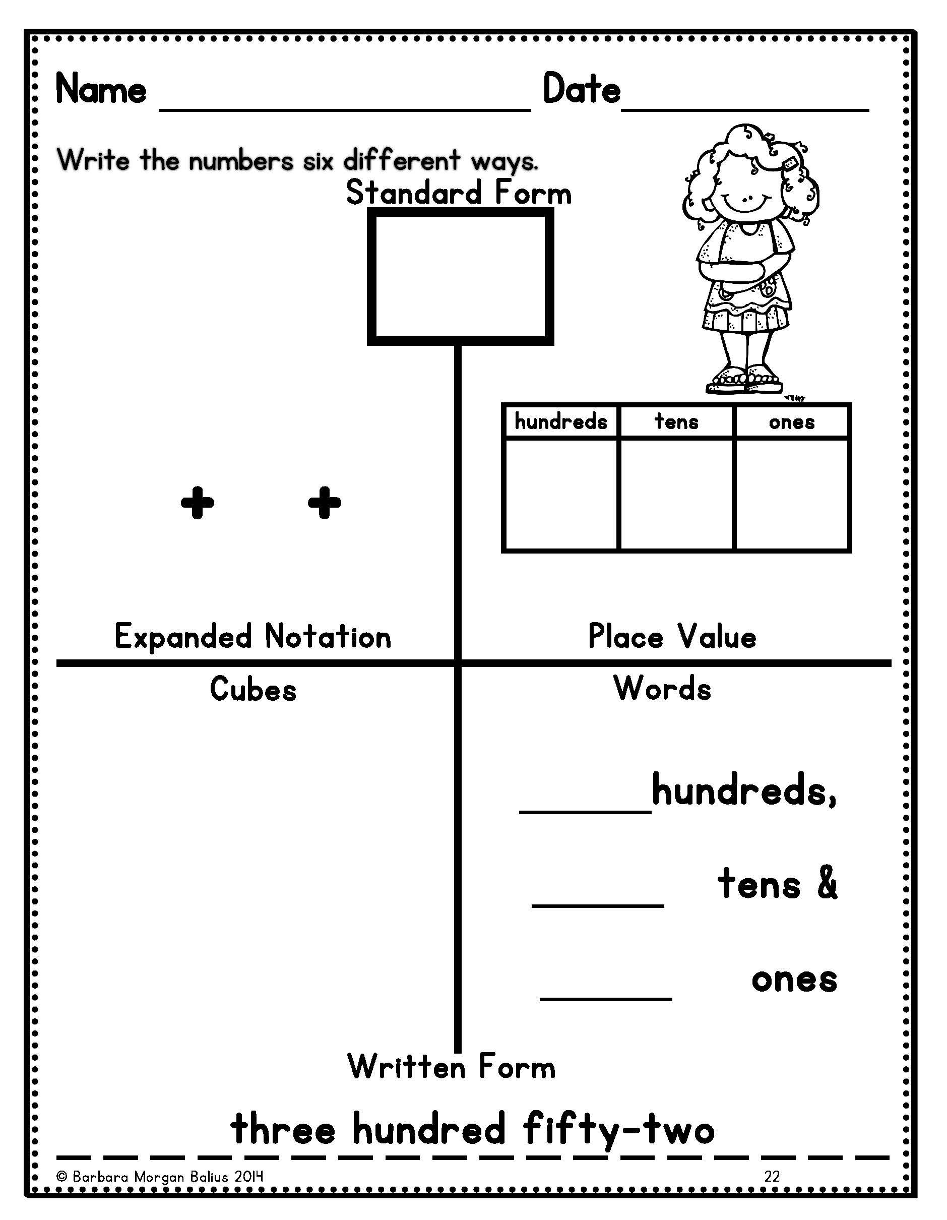 Worksheet Place Value Practice Grass Fedjp Worksheet Study Site