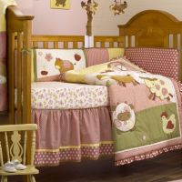 baby barnyard crib bedding
