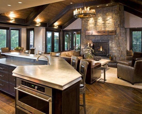 Rustic Home Interior Design Design Pictures Remodel Decor And