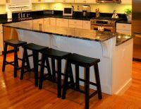 Two tiered step down kitchen island | Kitchen Islands ...
