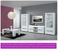 White high gloss dining furniture and sets | EM Italia ...