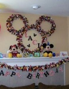 Micky mouse ears fabric wreath how to link  tons of awesome mickey party ideas also ffstinkin crafts pinterest thursday and craft rh