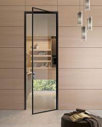 Image result for thin frame glass aluminum swing doors