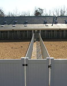 Best dog boarding kennel building picture of the back and airing yards also rh za pinterest