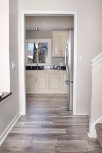Grey walls | laminate flooring  | Pinteres