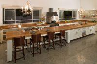 long kitchen ideas | long, long kitchen island | Ideas for ...