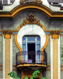 Facade Of Dorol Dositejeva Street Belgrade Serbia