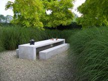 Meubles En Ton Ou Sculptures De Jardin Concrete