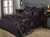 Gothic Chic Freya Bed set in Black | bed room stuff ...