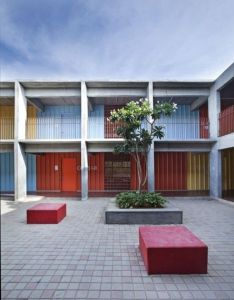 Indian architect sandeep khosla explains the importance of outdoor learning at dps kindergarten school in bangalore india which won education category also pin by  vini  ja on greats pinterest architecture schools rh