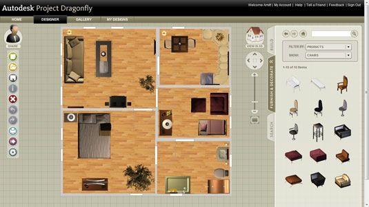 AutoDesk DragonFly — Online 3D Home Design Software 3d Software