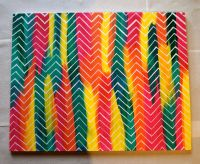 DIY: Easy Art Project | Easy art projects, Easy art and Craft