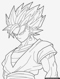 Dibujos Para Colorear Bola De Drac Z. Dragon Ball Z