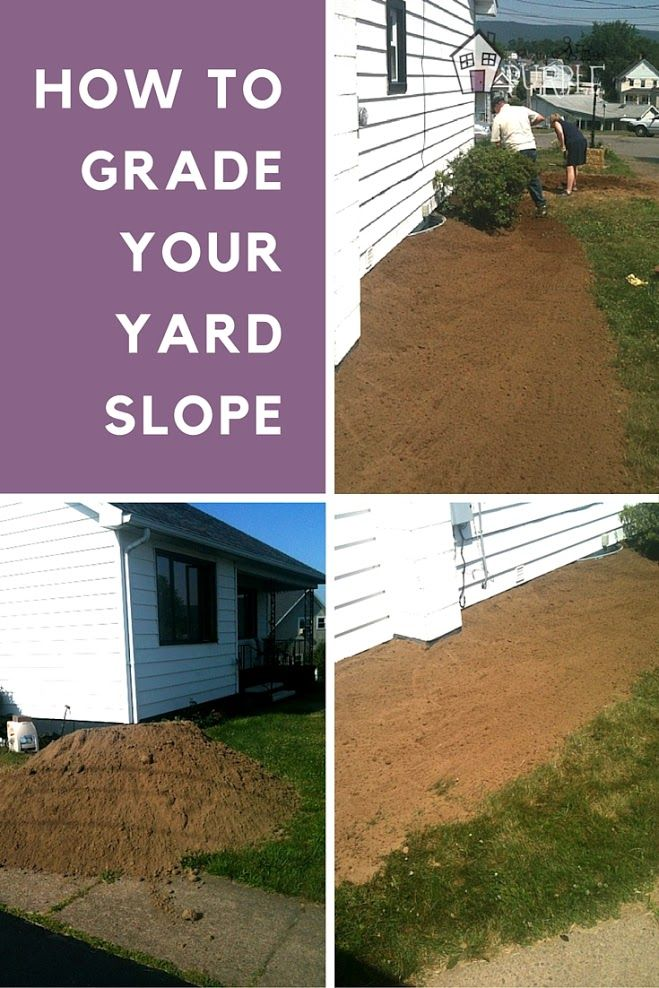 Yard Grading 101 How To Grade A Yard For Proper Drainage Garage