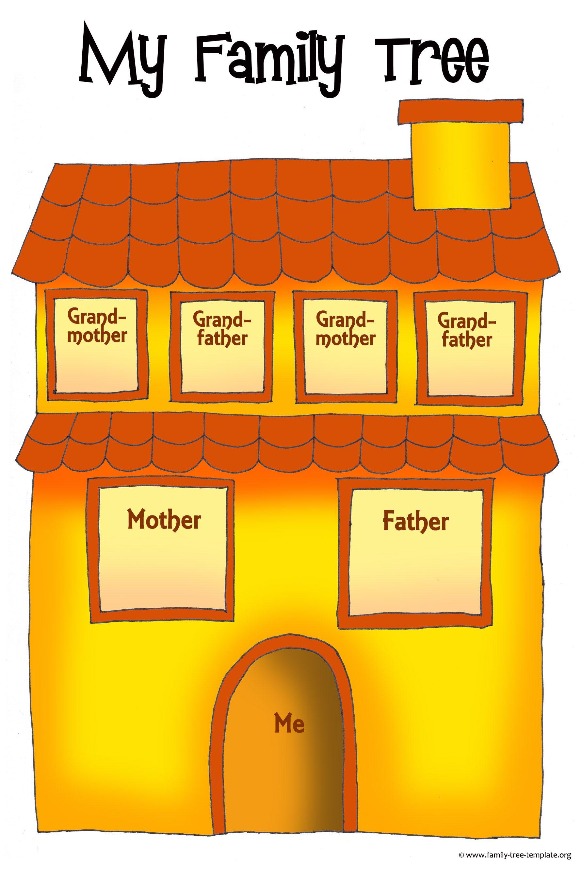 Fun Family Tree House For Children