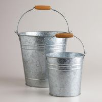 Galvanized Metal Pails | Galvanized metal