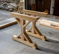 Kitchen Chronicles: Building a Fancy X Farmhouse Table ...