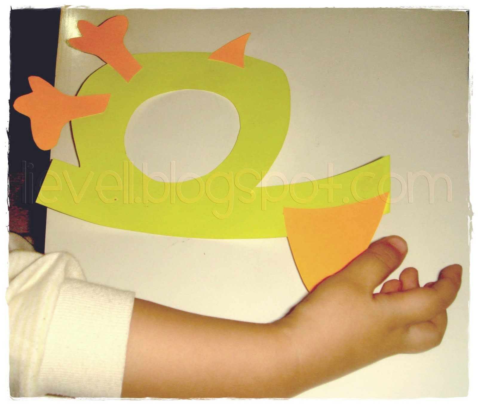 Simply Hood Craft Letter D