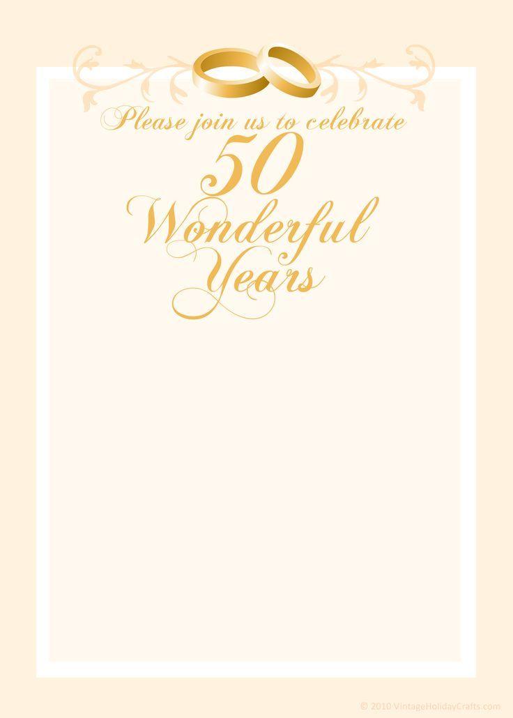 Free Anniversary Invitation Templates  Cleavercrafts