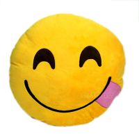 Details about NEW Emoji Smiley Emoticon Yellow Round ...