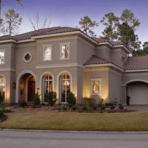 Stucco House Colors Exterior