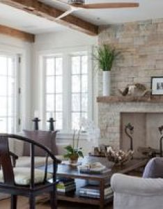 Shelter island beach house traditional living room new york wettling architects love the fireplace and wood beams also me likey this roomy future home pinterest rh