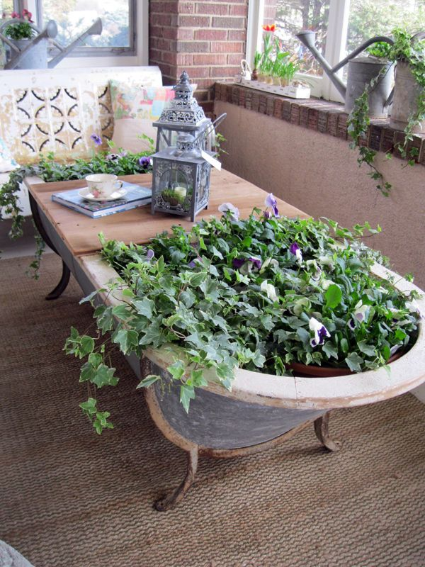 Upcycle Anything Into A Planter Gardens Terrace And Designs