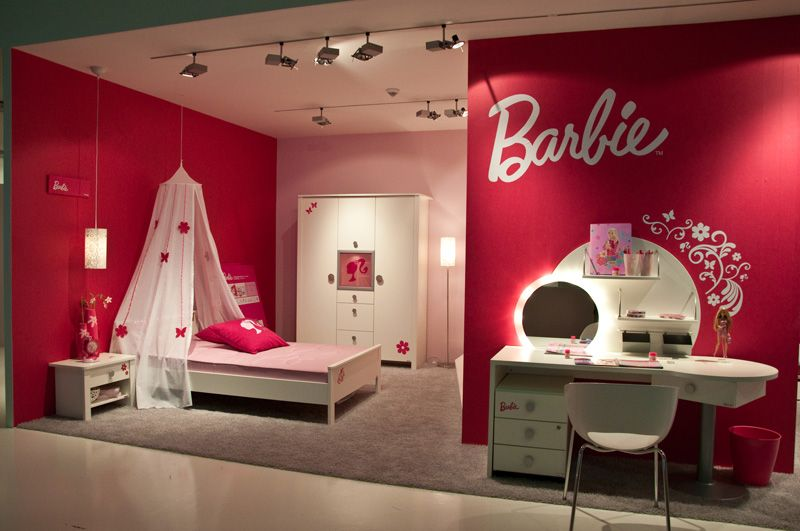 Enchanting Barbie Girl Bedroom Theme