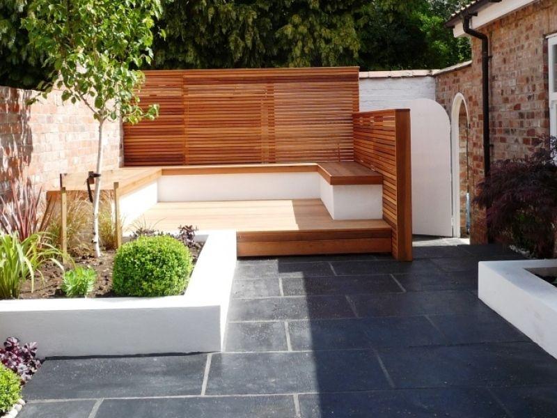 Split Level Small Garden Google Search Garden Ideas