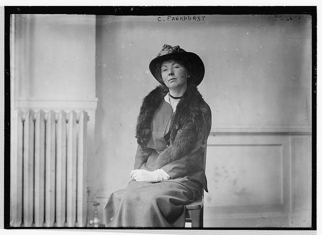 C. Pankhurst (LOC)   Christabel pankhurst. Suffragette and Suffrage movement