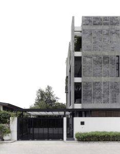 Gallery of huamark building inchan atelier facade designhouse also buildings rh pinterest