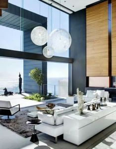 Stefan antoni olmesdahl truen architects saota  okha interiors for interior design in clifton cape town south africa the high ceiling  lights also love it architecture pinterest rh