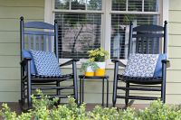 Rocking chairs on the front porch - The Iconic Style of ...