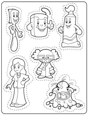 Pin by Daiana Ordine on Projeto Higiene Bucal e Pessoal