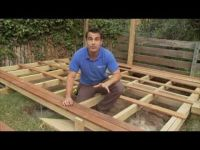 How to build a deck - DIY Video - For when I re-do my deck ...