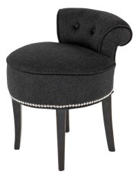 This stunning little dressing table stool is the perfect ...