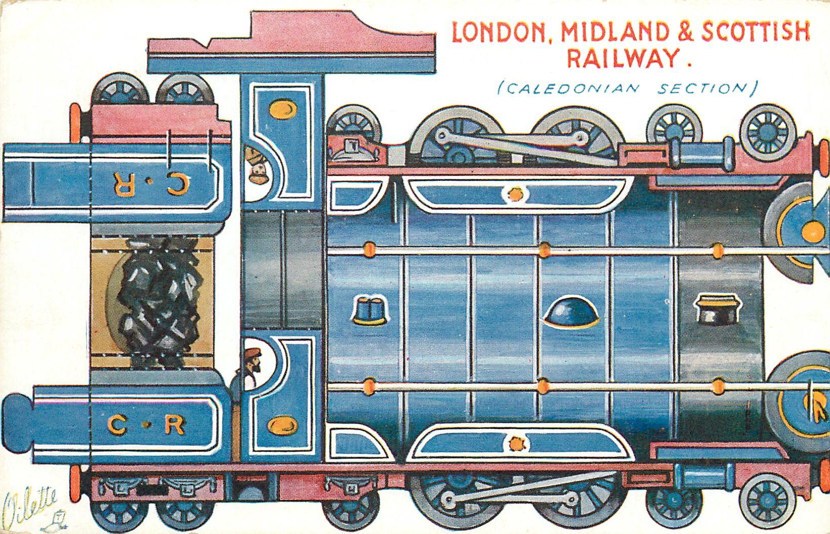 London Midland Amp Scottish Railway Caledonian Section