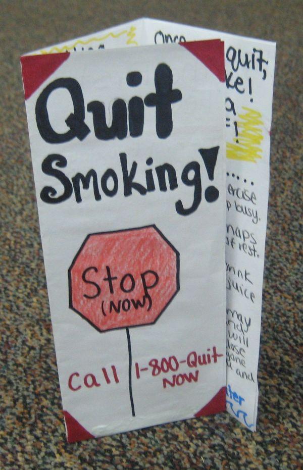 Stop-Smoking Brochure Printable
