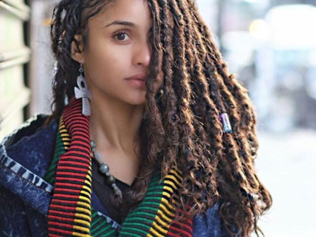 pina.a on white women with dreads | pinterest | hair medium