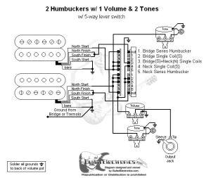 2 humbucker wiring diagram | Humbucker Wire Color Codes