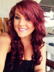maroon hair color ideas